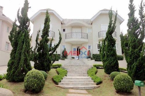 Casa De 650 M² À Venda No Tamboré Três - So0157