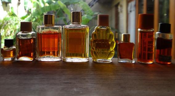 Perfumes Antigos Lote De 8 Vencidos Lindos Frascos