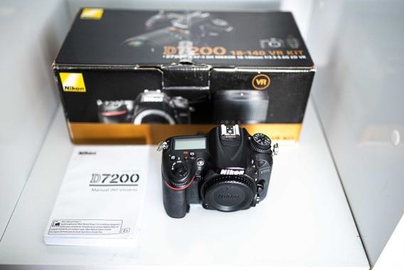 Ótima Câmera Nikon D7200 - Wi-fi
