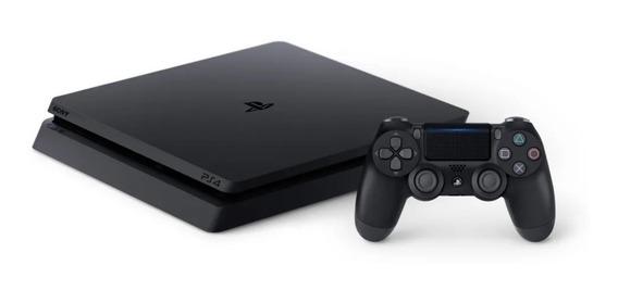 Sony Playstation 4 Slim 1tb 2 Controles.