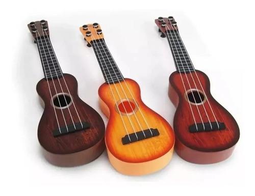 Guitarra Ukelele Infantil Juguete 39cm Promo Niño Navidad