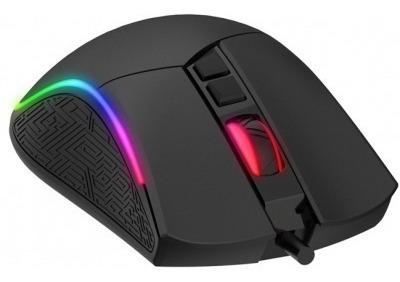 Mouse Gamer Havit Ms-1001 Rgb 7 Botões 7200 Dpi Preto