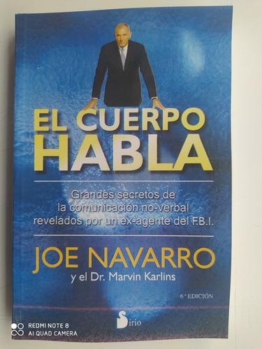 El Cuerpo Habla. Joe Navarro.