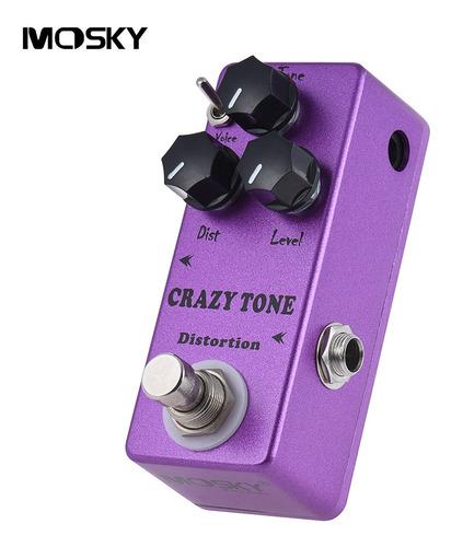 Imagem 1 de 9 de Mosky Mp 50 Crazy Tone Riot Distortion Mini Guitarra Única