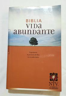 Libro Biblia Vida Abundante