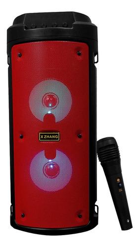 Caixa De Som Bluetooth Amplificada Portátil Bateria Usb 480w