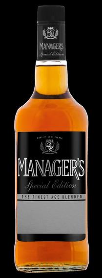 Licor De Whisky Managers 2 Botellas 0.70 L