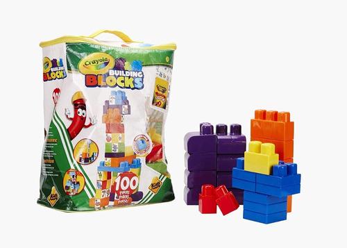 Crayola Building Blocks 100 With 99088
