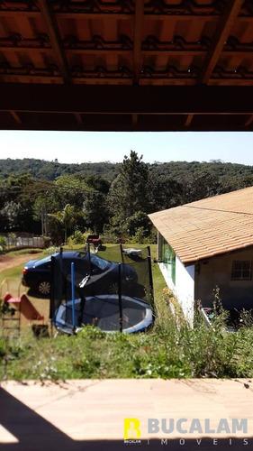 Imagem 1 de 6 de Bela Chácara Em Condomínio Para Venda Em Ibiúna - São Paulo - 4470-pm
