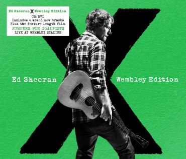 Cd/dvd Ed Sheeran X Wembley Edition