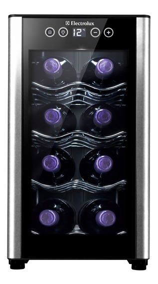 Cava De Vinos Electrolux 8 Botellas Panel Digital Erw082xamb