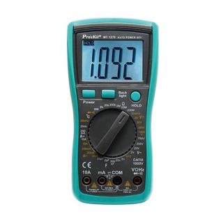 Multimetro Digital Tester 3 1/2 Proskit Mt-1270
