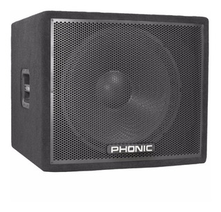 Bafle Subwofer Phonic Ask18sb 1x18 - 300w/4 Rms Alfombrado