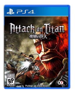Attack On Titan Ps4 Nuevo Y Sellado