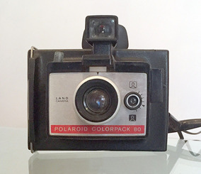 Camera Antiga Polaroid Colorpack 80 (instantânea)