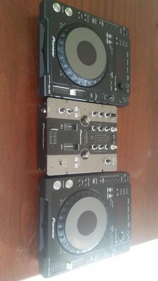 Pionner Kit 2 Cdj 850 + 1 Djm 250 ***