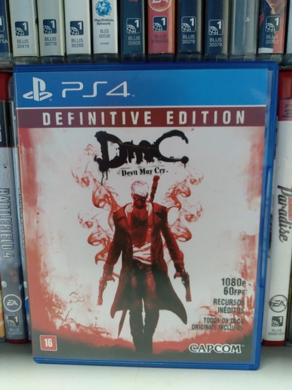 Dmc Devil May Cry Ps4 | Parcelamento Sem Juros