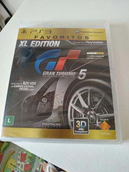 Jogo Ps3 Gran Turismo 5 Xl Edition Lacrado