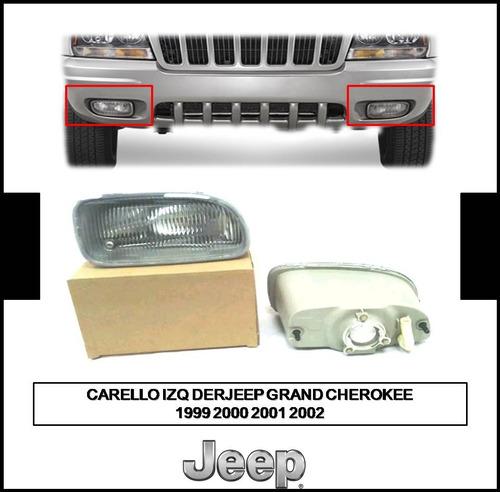 Carello Faro Izq Der Jeep Grand Cherokee 2009 2000 2001 2002