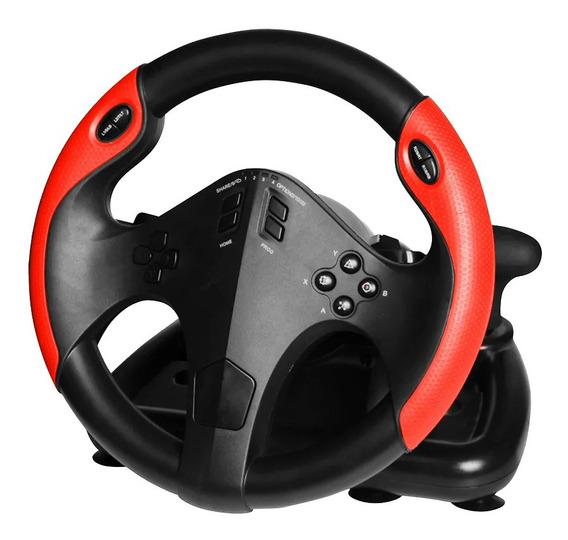 Volante Gamer Pc/xbox/ps3/ps4 Multilaser Marcha E Pedal Usb