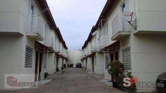 Sobrado Com 2 Dormitórios À Venda, 75 M² Por R$ 370.000 - Vila Bela - São Paulo/sp - So1116