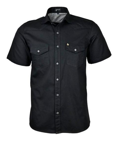 Camisa Social Masculina Review Mc Estilo Militar - Promoção