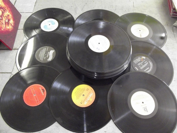Discos De Vinil Decoração - 50 Und - 80 Frete Gratis