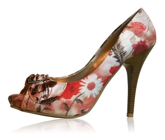Zapatillas Para Dama Pump Floreado Dorothy Gaynor