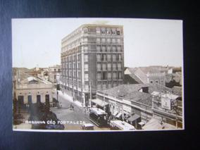 Cartao Postal - Arranha Ceu E Bonde Em Fortaleza / Ceara