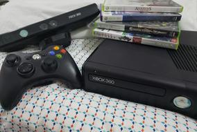 Xbox 360 Original Com 4 Jogos