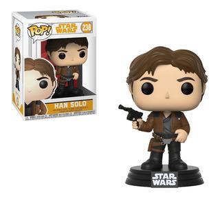 Muñeco Funko Pop Star Wars Han Solo Nuevo En Caja