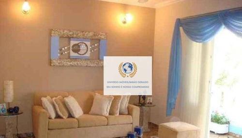 Casa Com 3 Dormitórios À Venda, 170 M² Por R$ 630.000,00 - Cidade Universitária - Campinas/sp - Ca1360