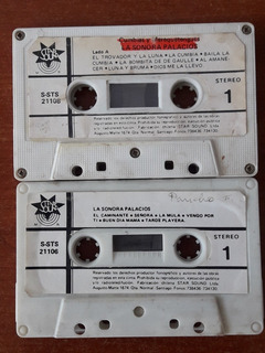 Cassette La Sonora Palacios Musica Chilena (sin Garatula)