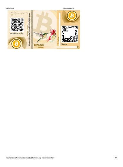 Carteira De Bitcoin Comemorativa 25 Anos Plano Real