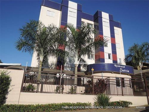 Apartamento À Venda, 66 M² Por R$ 270.000,00 - Residencial Suécia - Paulínia/sp - Ap0507