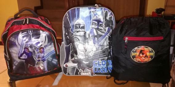 Mochila Star Wars X 3