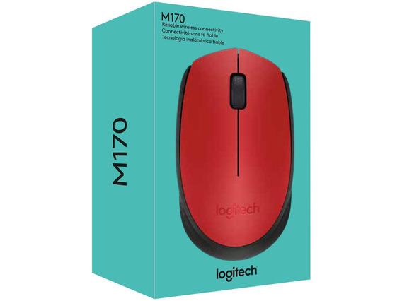 Mouse Sem Fio Laser 1000dpi - Logitech M170.
