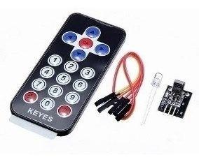 Controle E Receptor Infravermelho Arduino Hx1838 - 0018
