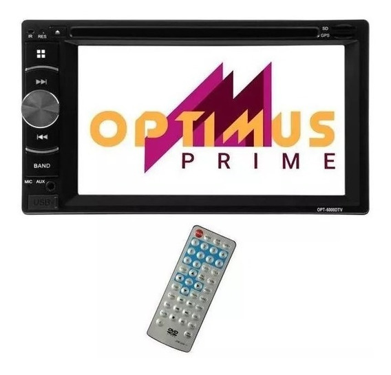 Reprodutor De Dvd Automotivo Optimus Prime Opt-6000dtv De 6.