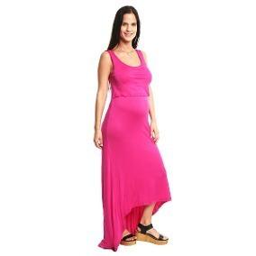 Vestido Maternidad Y Lactancia Maxivestido Ropa De Mujer