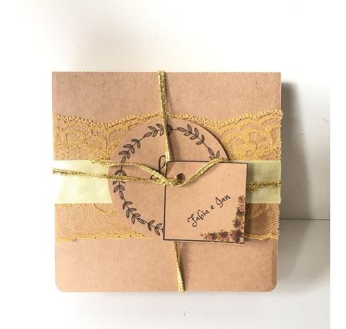 Imagem 1 de 10 de Arquivo Molde Convite Para Padrinhos/ Casamento