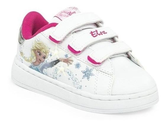 Zapatillas Disney Addnice Flow Frozen Luz Bla-sagat Oferta!!