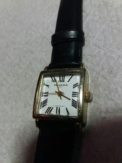 Reloj Para Dama Nivada Swiss Original Np-7003l