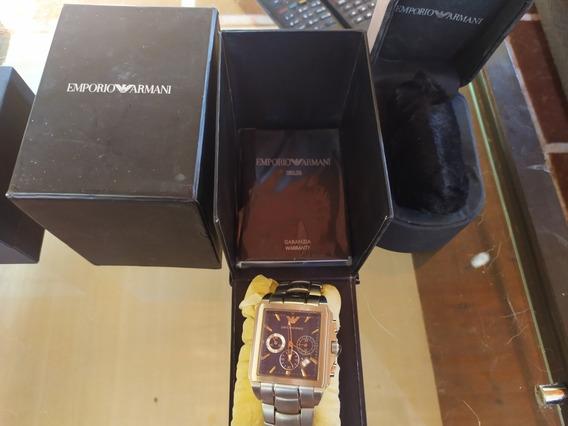 Relógio Armani Ar-0660 Modelo Kaká Ler Anúncio