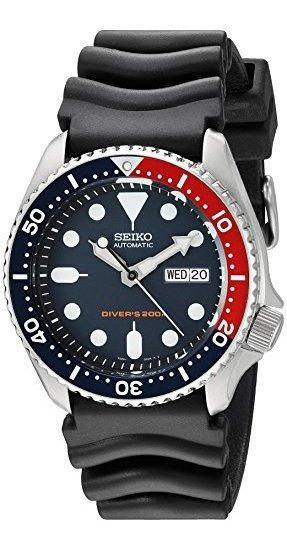 Seiko Reloj Con Esfera Azul Profundo Automático Para Hombre