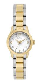 Relógio Condor Feminino Dourado E Prateado Co2035kwz/k5b