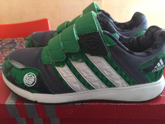Zapatillas adidas Marvel Hulk Us2 Uk1 1/2 O 33.5