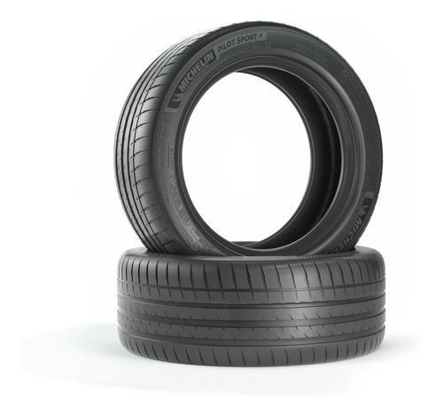 Imagen 1 de 7 de Kit X2 Neumáticos 225/45-18 Michelin Pilot Sport 4 Zp Run Fl