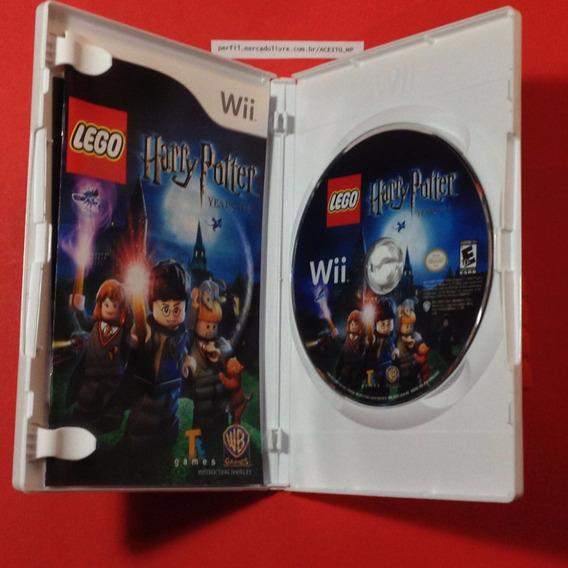 Lego Harry Potter Anos 1/4 Usa Original Nintendo Wii / U