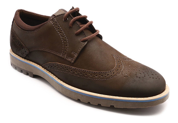 Sapato Oxford Mariner Sky Brown 29306-1cb